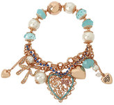 Betsey Johnson Betsey Gifting Heart Stretch Bracelet