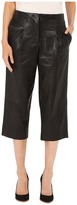 Prabal Gurung Leather Capri Pants