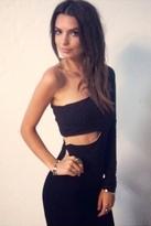 Donna Mizani Ultra Soft Classic Cut Out Dress in Black