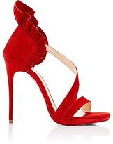 Christian Louboutin Women's Olankle Suede Sandals
