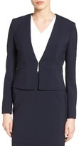 BOSS Women's Jemida Stretch Cotton Jacket