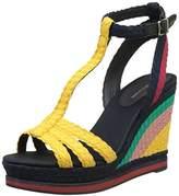 Tommy Hilfiger V1285ancouver 1s, Women's Open Toe Sandals,(41 EU)
