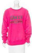 Gucci 2017 Vintage Logo Print Sweatshirt
