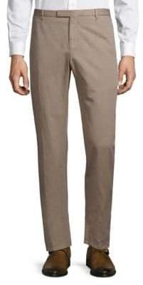 Boglioli Linen-Blend Chino Pants