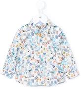 Paul Smith printed shirt - kids - Cotton/Spandex/Elastane - 9 mth