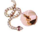 Selim Mouzannar Basilisk Coiled Snake Single Stud Earring
