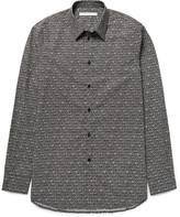 Givenchy - Slim-fit Printed Cotton-poplin Shirt