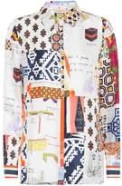 Tory Burch Sienna printed silk shirt