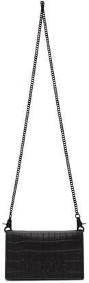 Versace Black Snake Logo Chain Wallet