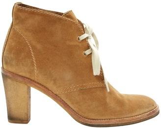 Veronique Branquinho Brown Suede Ankle boots