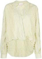 Cinq à Sept Lillian striped-print blouse