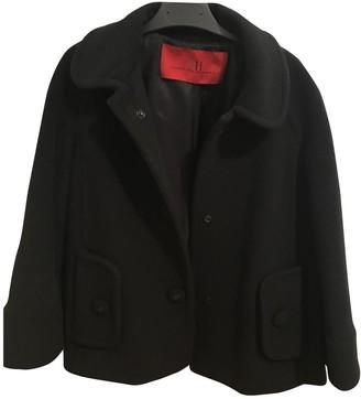 Carolina Herrera Black Wool Coat for Women