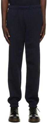 LES TIEN Navy Classic Lounge Pants