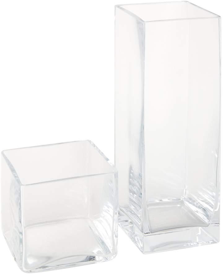Linea Square Vase 30cm