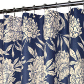 """B. Smith Park Peony Navy 72"""" x 72"""" WaterShed® Shower Curtain"""