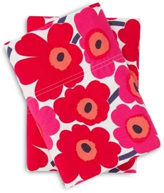 Marimekko Mini Unikko Standard Pillowcase, Pair