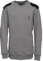 Luke 1977 Junior Luke Boys Dennis Sweatshirt Mid Marl Grey