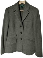 Lauren Ralph Lauren Green Wool Jacket for Women