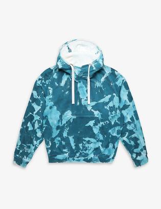 Diesel x Pronounce tie-dye cotton hoody