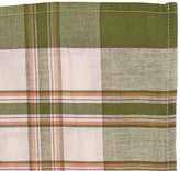 Juliska Country Plaid Napkin, Green/Orange
