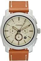 Fossil Chronograph Watch Hellbraun