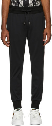 Dolce & Gabbana Black Patch Lounge Pants