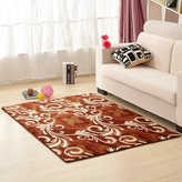 DAFASFAS oral fleee blanket/blanket for living room and tea table /bedside arpets for bedroom /Retangular broadloom mat
