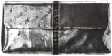 Franchi Handbags - La Sera Antique Metallic Clutch (Silver) - Bags and Luggage