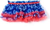Baby Starters Blue Floral Tutu Skirt - Infant