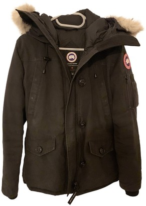 Canada Goose Montebello Black Coat for Women