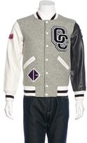Opening Ceremony Wool Leather-Trimmed Varsity Jacket