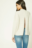 Forever 21 FOREVER 21+ Contemporary Dolman Sweater
