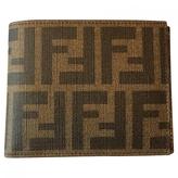 Fendi Tobacco Zucca bifold wallet