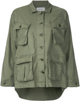 The Great The Commander jacket - women - Cotton/Linen/Flax/Tencel - 0