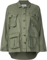 The Great The Commander jacket - women - Cotton/Linen/Flax/Tencel - 0