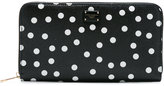 Dolce & Gabbana polka dot continental wallet - women - Calf Leather/Leather - One Size