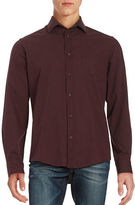 Black Brown 1826 Houndstooth Sportshirt