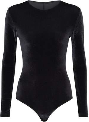 Lejaby Maison Velvet Mesh-Back Bodysuit