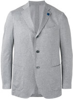 Lardini classic blazer - men - Cotton - 48