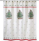 Avanti CLOSEOUT! Spode Christmas Tree Shower Curtain