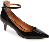 Linea Paolo 'Cutie' Ankle Strap Pointy Toe Pump (Women)