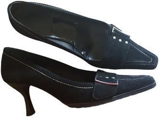 Minelli Black Leather Flats