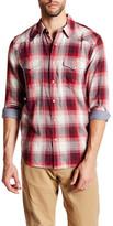 Lucky Brand Classic Western Plaid Long Sleeve Regular Fit Shirt