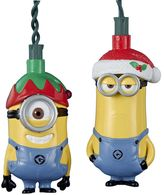 Kurt Adler Minions Stuart & Kevin 10-Light Strand Set