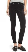 7 For All Mankind Women's Velvet Ankle Skinny Pants