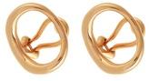Charlotte Chesnais Naho gold-plated clip-on earrings