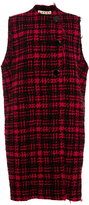 Marni Plaid Wool Button Vest
