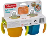 Fisher-Price Baby's First Sippy - Blue/Orange - 5 oz - 2 ct
