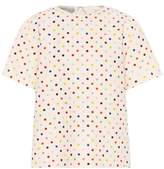 Valentino Polka-dot wool and silk top