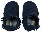 Tommy Tickle Leather Soft Sole Mocassin in Navy